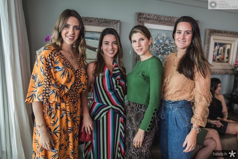 Roberta Ary, Ticiana Parente, Uliana Machado  e Marina Ary