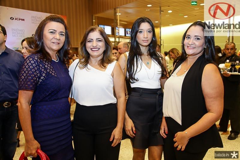 Guiomar Feitosa, Adriana Guerra, Vanessa Tatila e Andrea Freitas