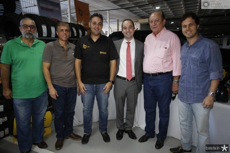 Romulo Vieira, Eduardo Brandao, Bruno Bastos, Yuri Rocha, Rafael Leal e Joao Gurgel