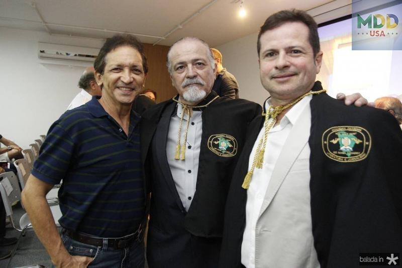 Djalma Pinto, Reginaldo Vasconcelos, e Marcos Andre Borges