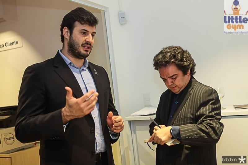 Luis Rezende e J Pompilio