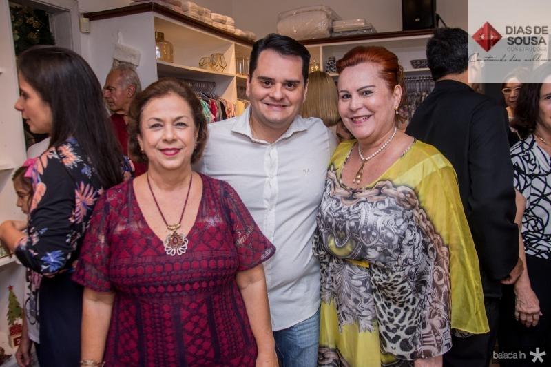 Julia Philomeno, Ricardo Alencar e Aparecida Alencar