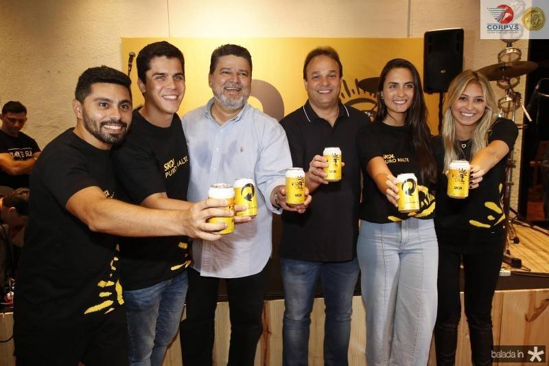 Renan Carvalho, Fernando Melo, Colombo Cialdini, Enio Cabral, Mariana Rech e Isabel Frozini 1