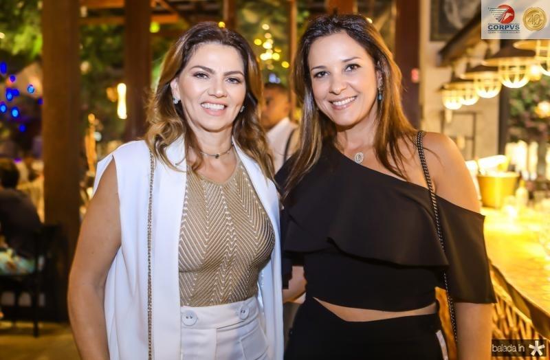 Suarama Geleilate e Lidia Oliveira