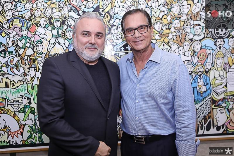 Jean-Paul Prates e Beto Studart