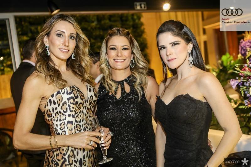 Melaine Diogo, Tatiana Luna e Marilia Quintao