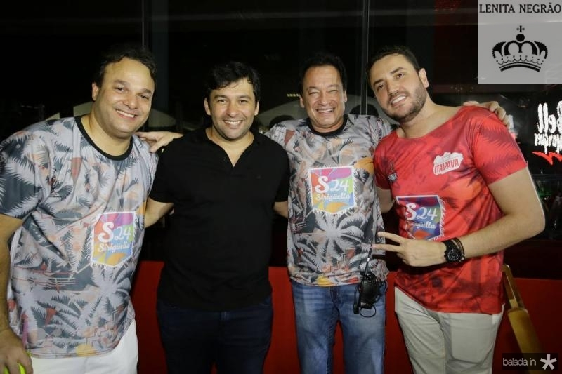 Enio Cabral, Leo Ferreira, Pedro Coelho Neto e Latino