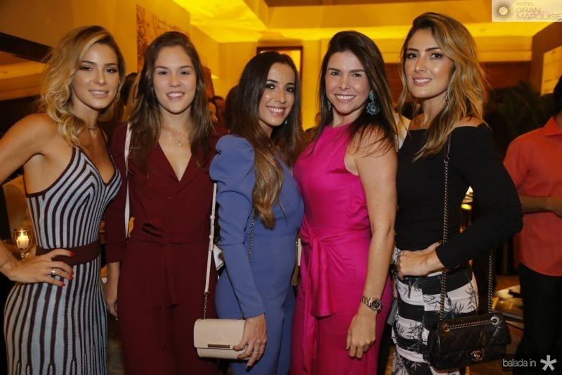 Bruna Waleska, Dani Frota, Katia Lobo, Roberta Costa e Melina Dias