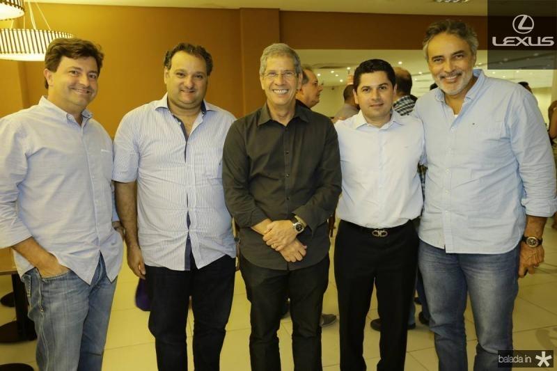 George Vieira, Patriolino Dias, Severino Neto, Pompeu Vasconcelos e Paulo Angelim