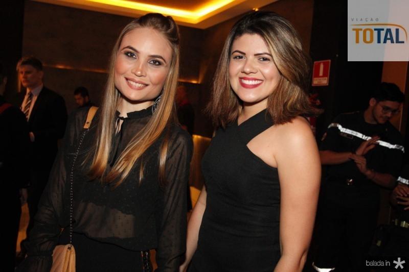 Mara Lorena e Sarah Silva