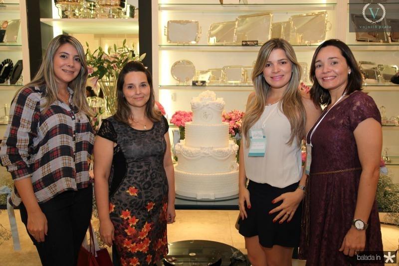 Livia Alencar, Val Tavares, Kamila Monteiro e Karine Rodrigues