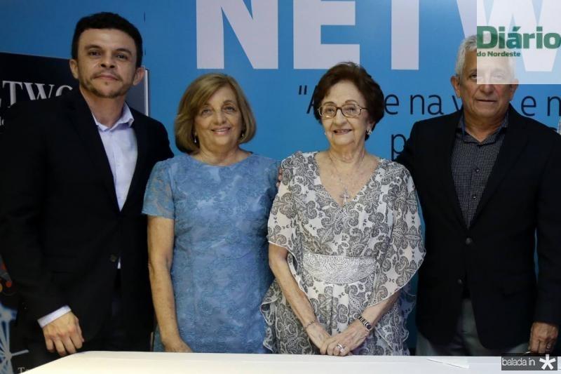 Elias Leite, Vera Sobreira, Zilmar Fontenele e Tadeu Sobreira