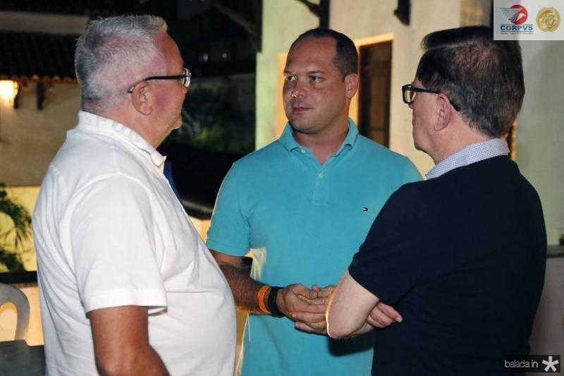 Alcimor Rocha, Heitor Freire e Joao Borges