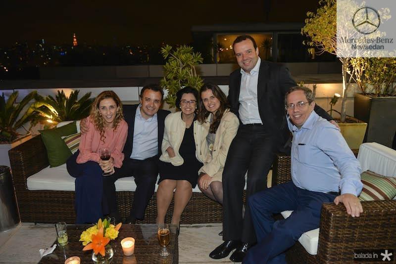 Lais, Henrique Pereto, Darcilha Pereto, Raquel Pereto Vidal, Beto Vidal, Paulo Weataker