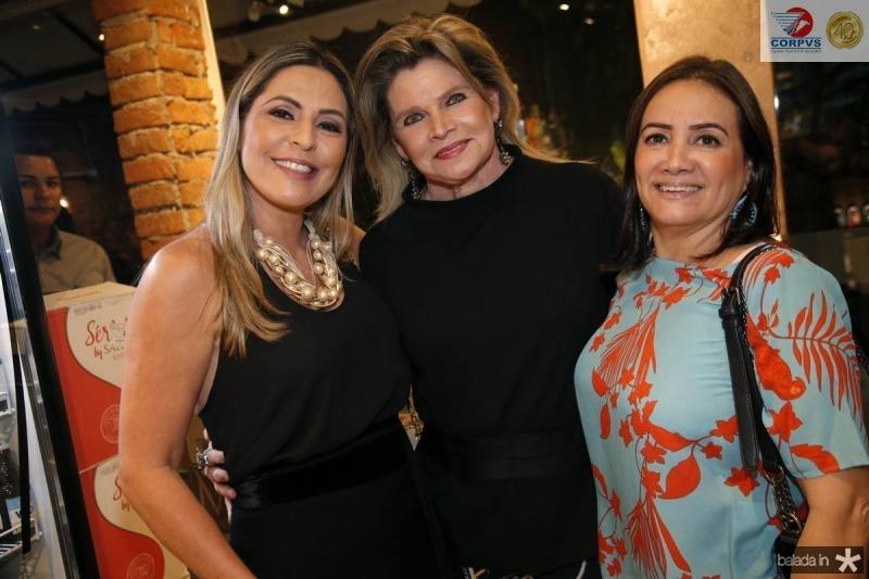 Deborah Nibon, Sandra Romcy e Cristina Albuquerque