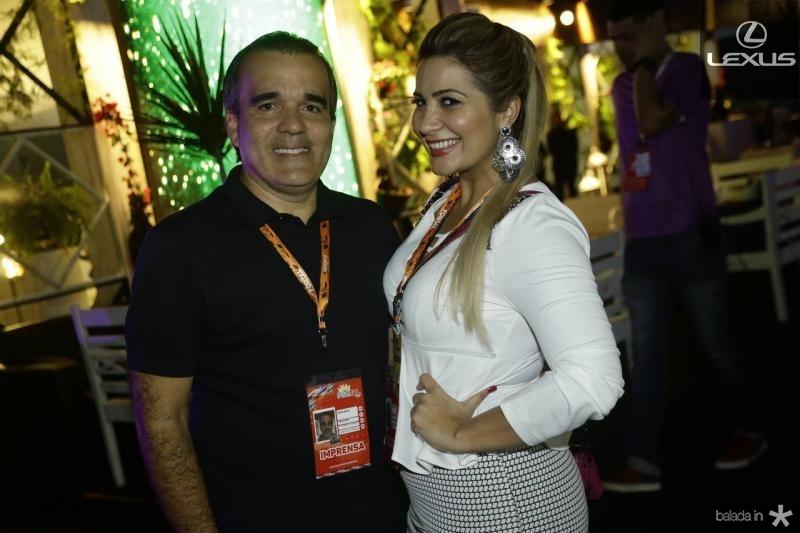 Regis e Mariana Feitosa