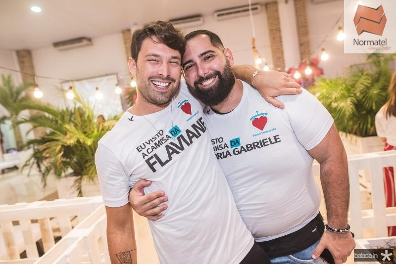 Thiago Maciel e Luiz Victor Torres