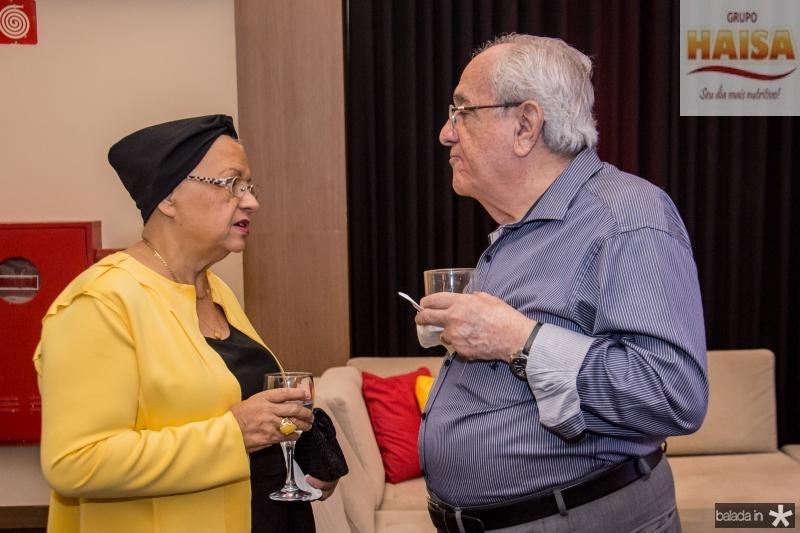 Gloria Ribeiro e Eduardo Bezerra