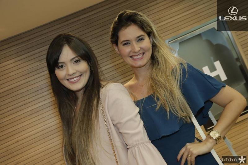 Caroline Leite e Clarissa Candeias