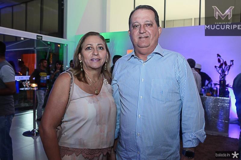 Amelia Lima e Jorge Eldo