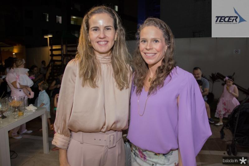 Ediane Camara e Natalia Pontes