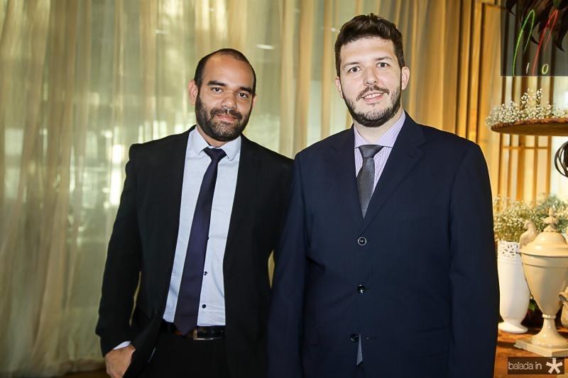 Rafael Bandeira e Jorge Barroso