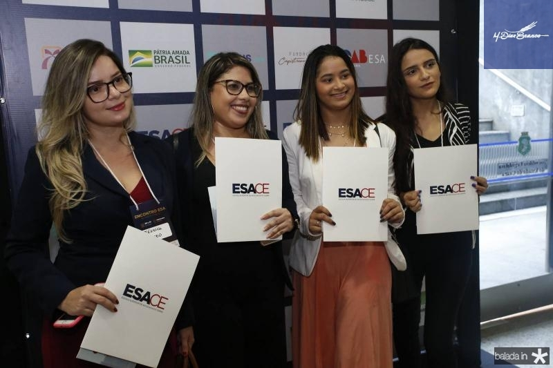 Jessica Roseo, Elaine Lima, Rebeca Tifany e Leticia Cavalcante 2