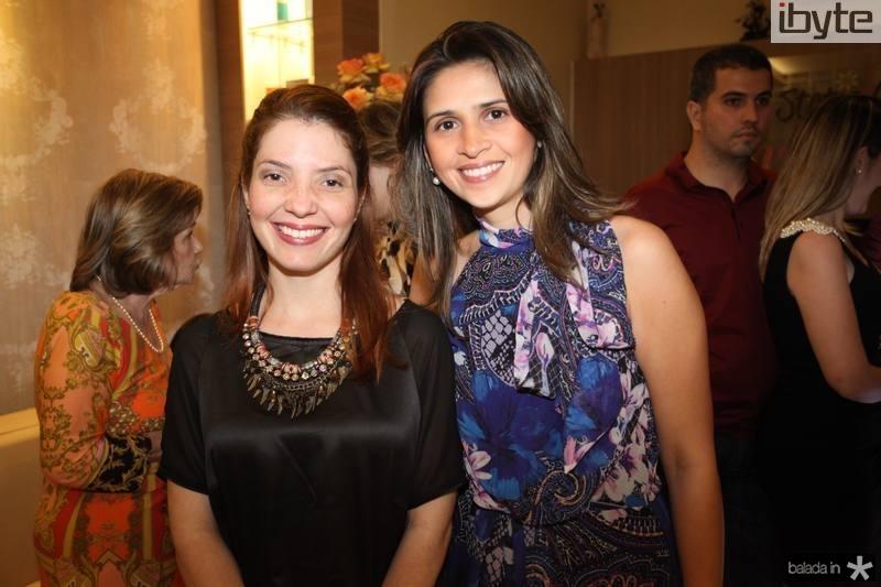Clarissa Maia e Denise Vasconcelos