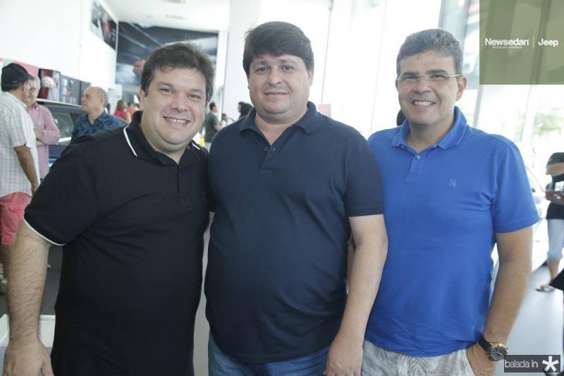 Chico Vale, George Lima e Alberto Mendonca