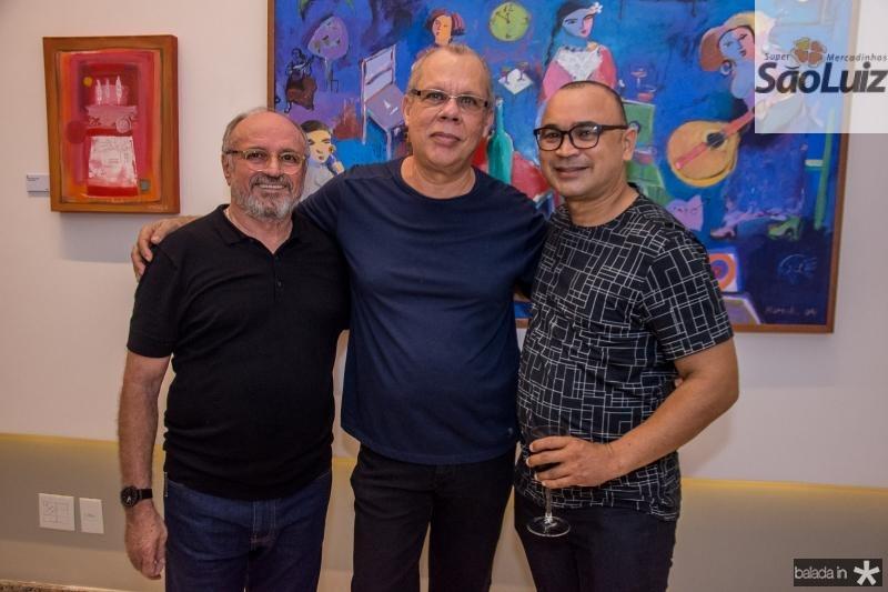 Vando Figueiredo, Eduardo Eloy e Silvano Thomaz