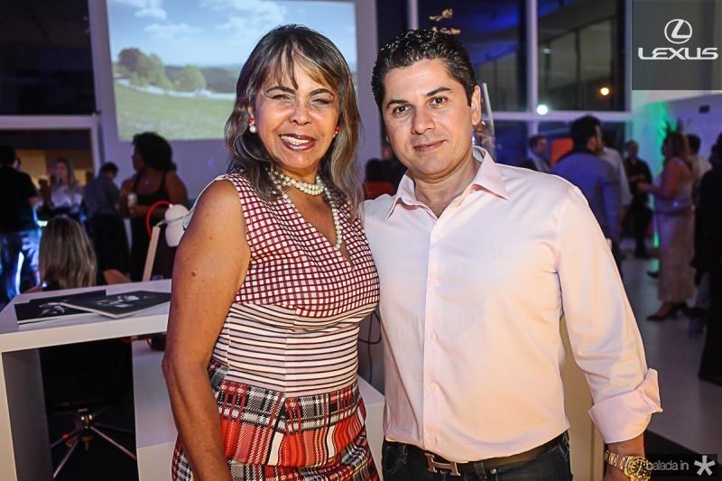 Selma Cabral e Pompeu Vasconcelos