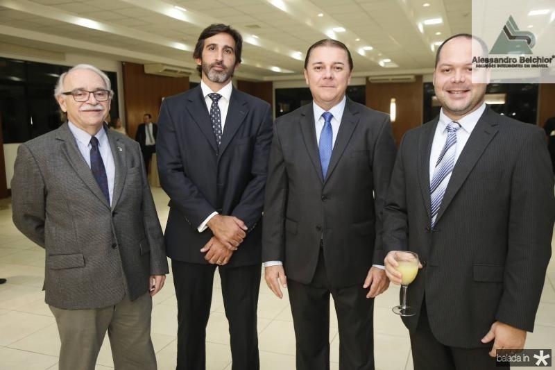 Ednilton Soares, Lucas Fiuza, Eliseu Barros e Heitor Freire