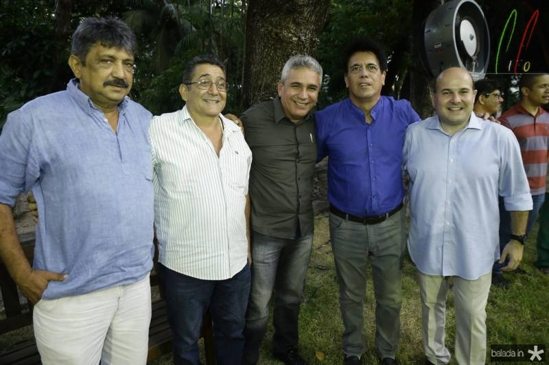 Joao Farias, Alipio Rodrigues, Junior Aguiar, Nelio Moraes e Roberto Claudio