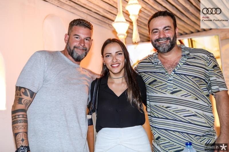 Fernando Trindade, Eliz Mota e Guga de Castro