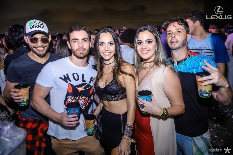 Joao Carvalho, Fernando Vilela, Nicole Silvestre, Sabrina Coelho e Nelson Gonzales