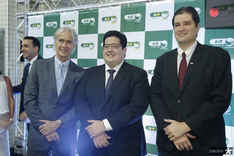 Marcos Pompeu, Yuri Torquato e Fernando Laureano