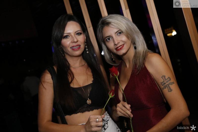 Claudia Silva e Lena Macedo
