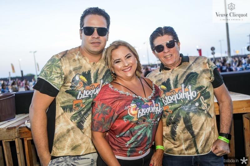 Thiago Holanda, Beth Pinto e Dito Machado