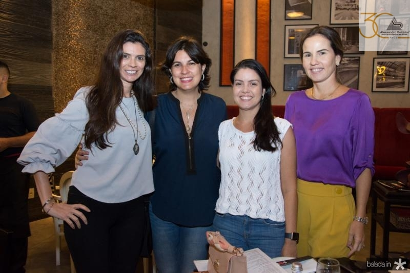 Lia Sialho, Renata Almeida, Lana Cesar e Ediane Camara