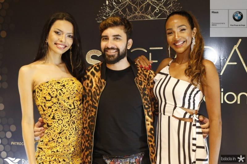 Helen de Lima, Lincoln Valraven e Tayssa Oliveira