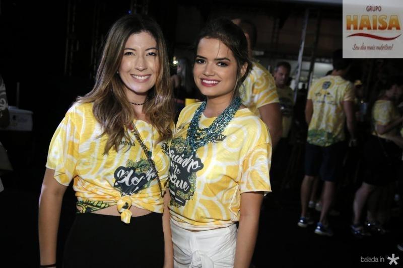 Renata Aguiar e Raquel Rocha