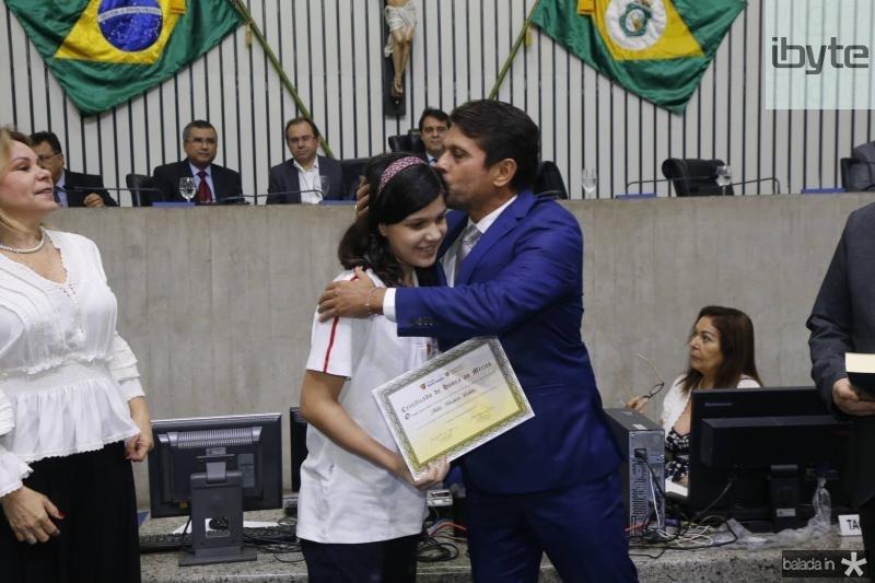 Manuela Almeida e Helio Winston Leitao