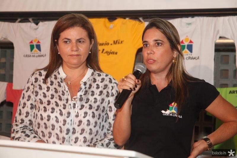 Islane Verçosa e Patricia Chalaça