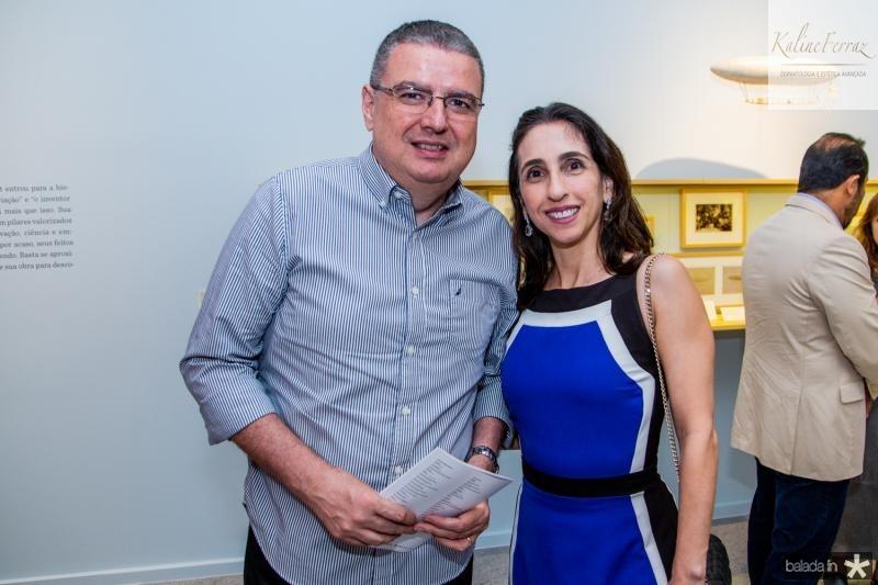 Luiz Fernando e Jovania Mota