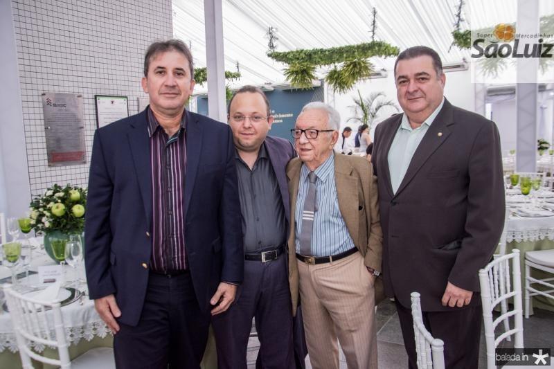Paulo regis Botelho, Louro Maia, Fernando Maia e Francisco Jorge Vasconcelos