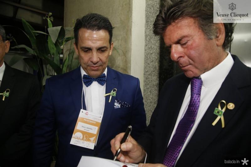 Raul Amaral e Luiz Fux