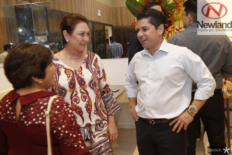 Aurineide Araujo, Paula Frota e Pompeu Vasconcelos