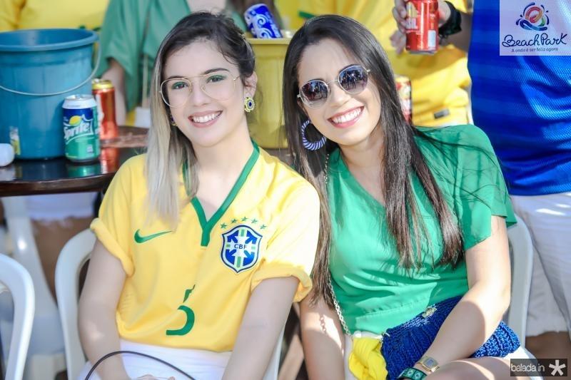 Fernanda Santos e Raquel Umbeline