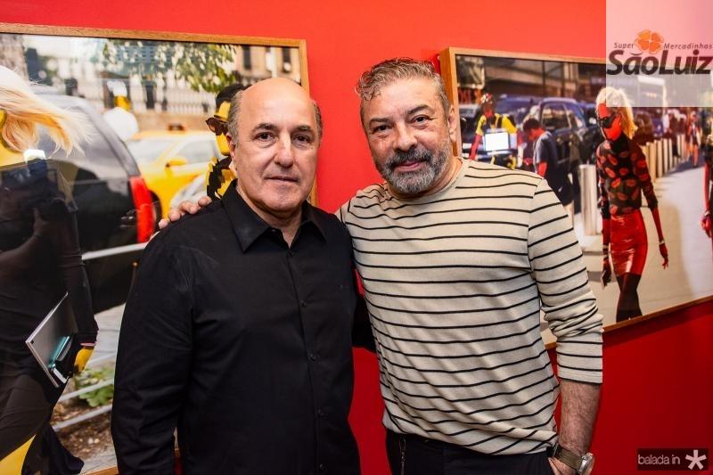 Silvio Frota e Claudio Silveira