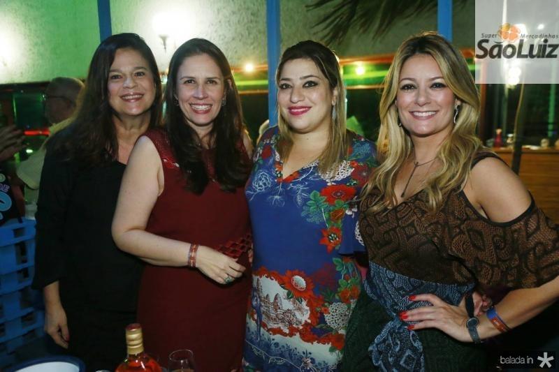 Marilia Esteves, Fabiola Rocha, Manu Romcy e Tatiana Luna